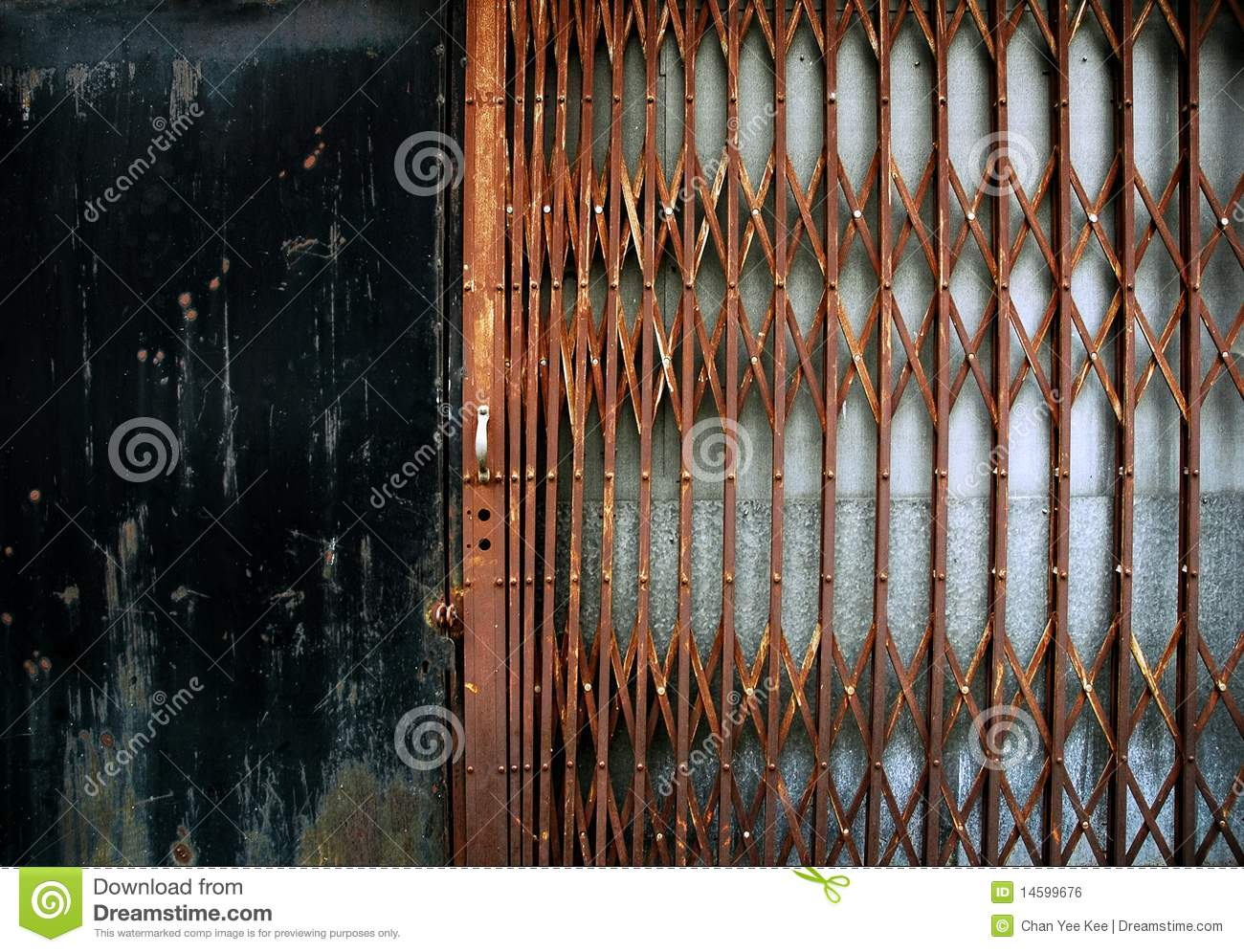 Rusty Metal Fence Royalty Free Stock Image Image 14599676