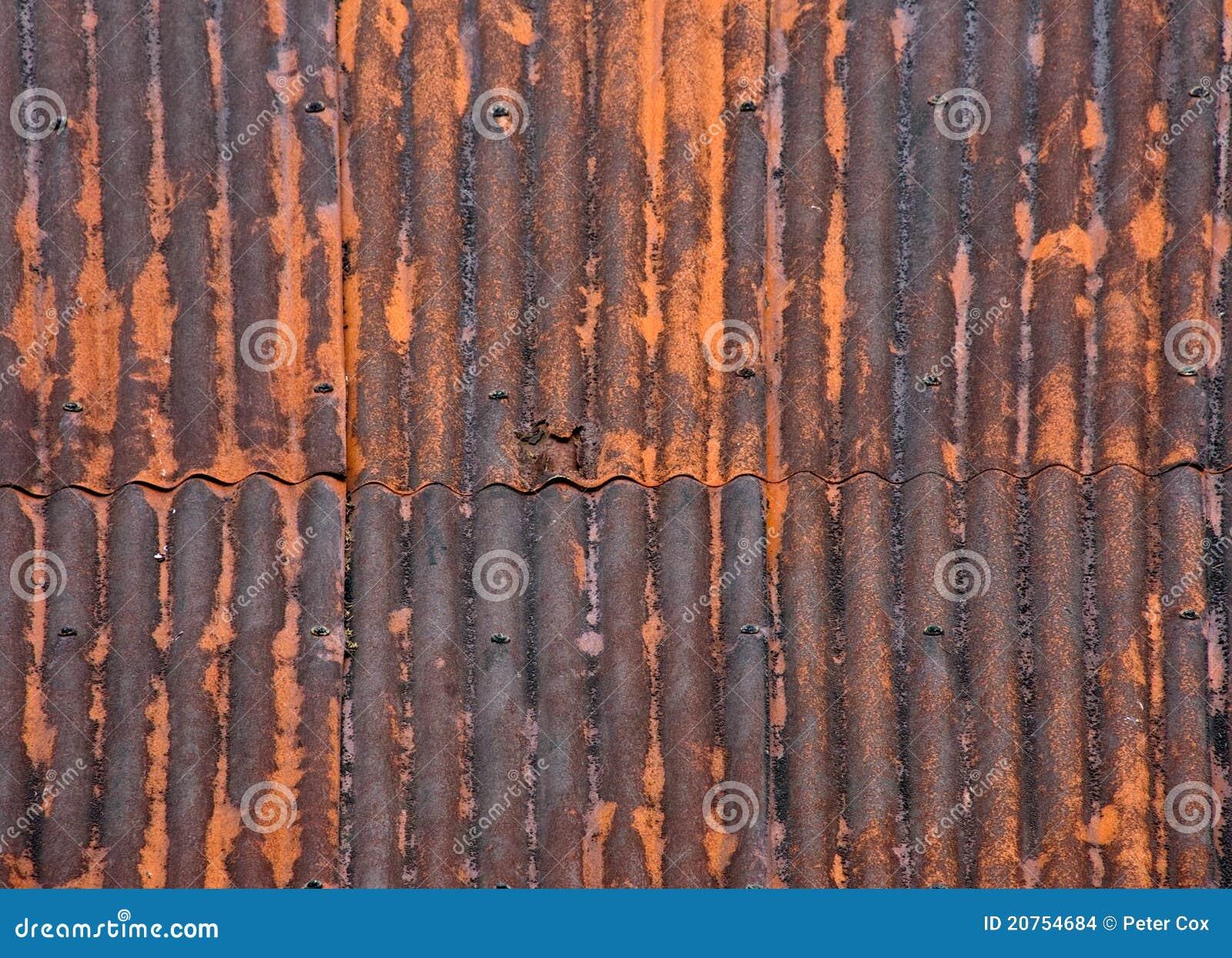 Rusted Metal Roof Texture Rusty Metal Roof
