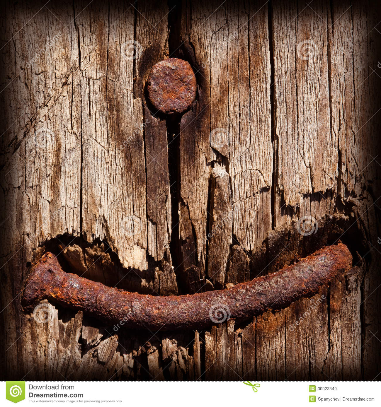 Rusty Nail Royalty Free Stock Images - Image: 30023849
