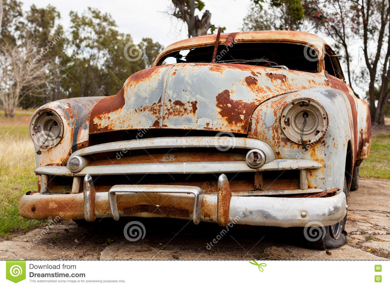Rusty Old Car Stock Image Image Of Auto Rural Rusting - Old car images