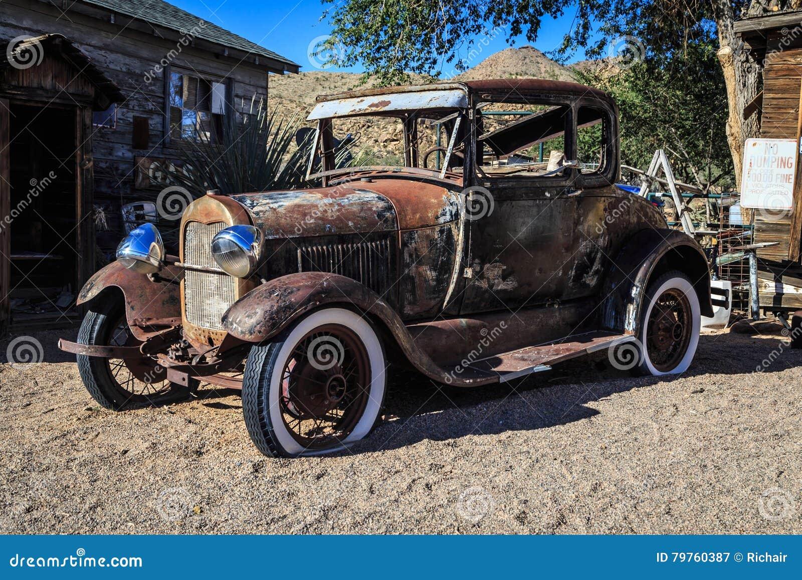 Rusty old car stock image. Image of historical, nostalgia - 79760387