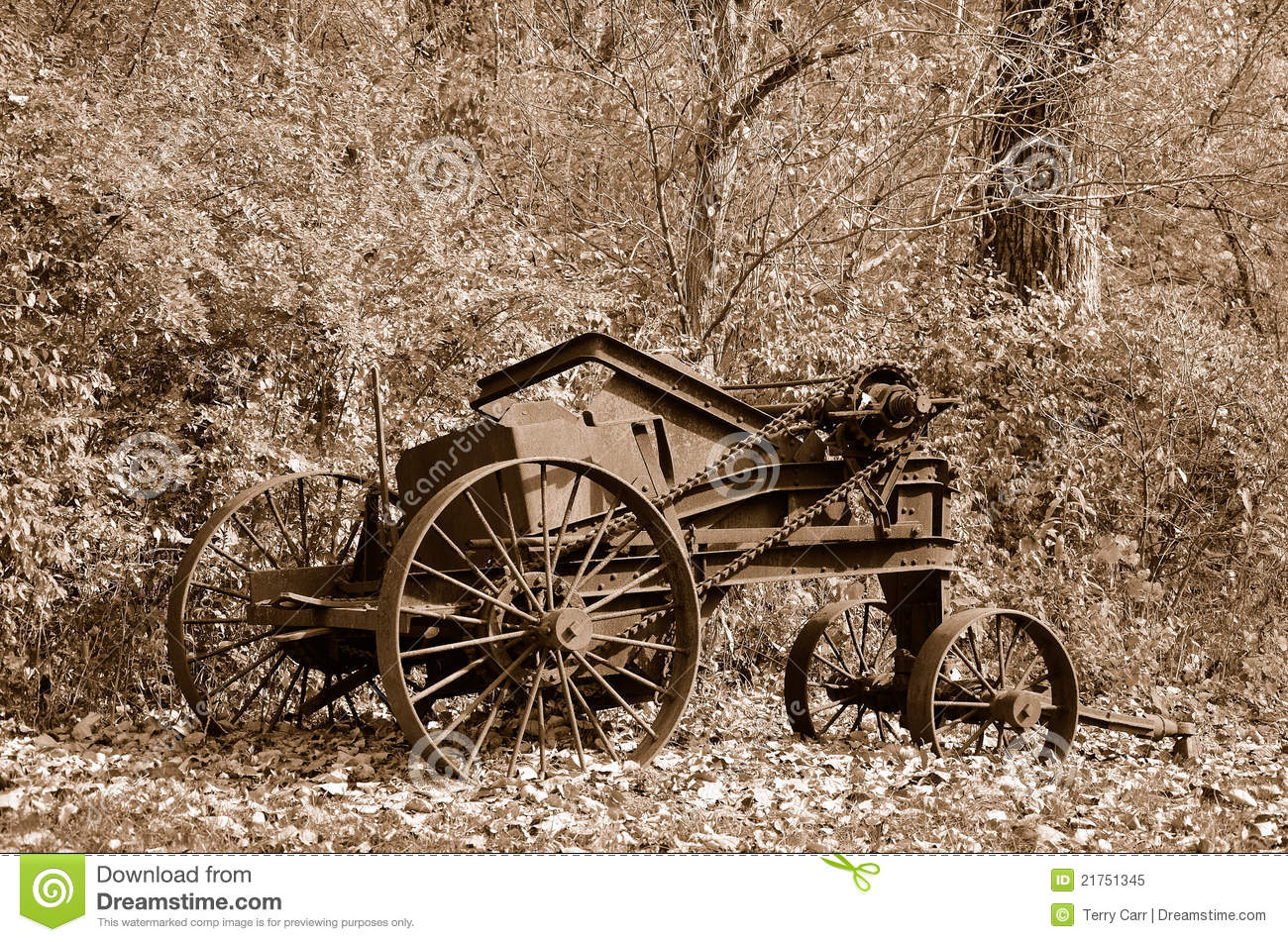 Rusty Old Farm Machinery Royalty Free Stock Photo - Image ...