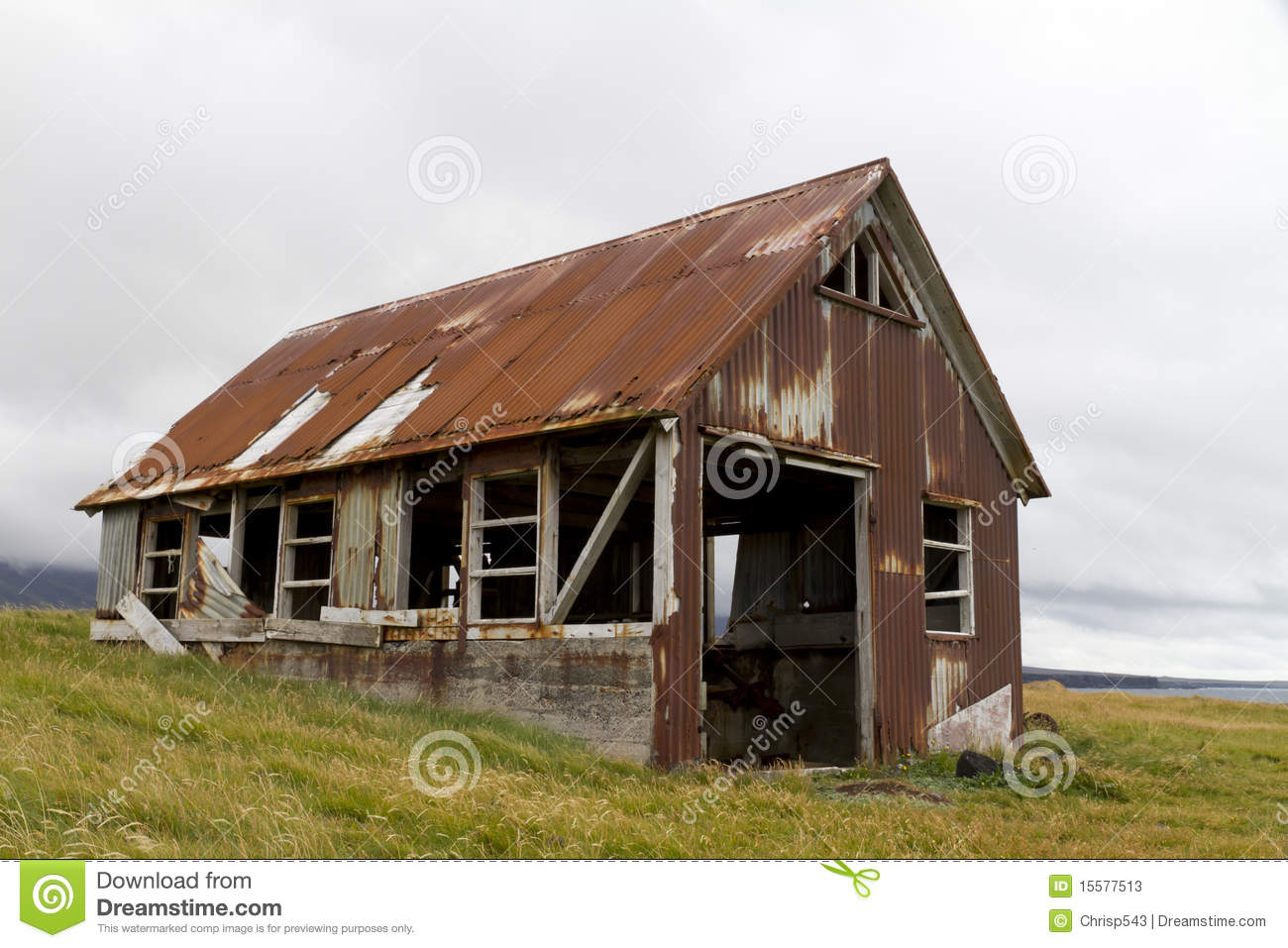 Rusty Old Shed Stock Photos Image 15577513