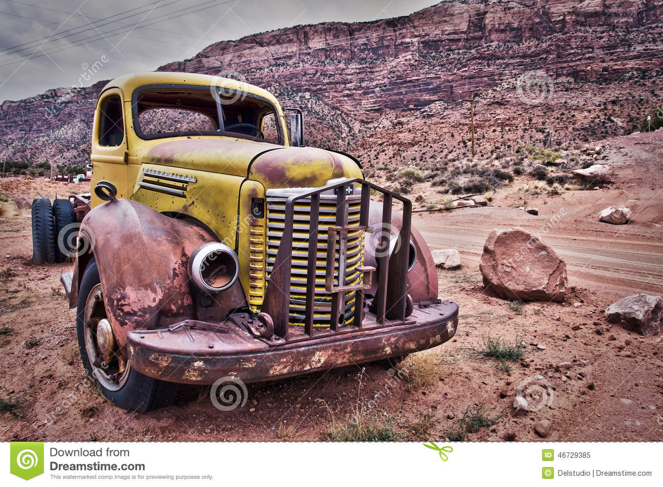 Rusty Old Truck Stock Images - 4,774 Photos