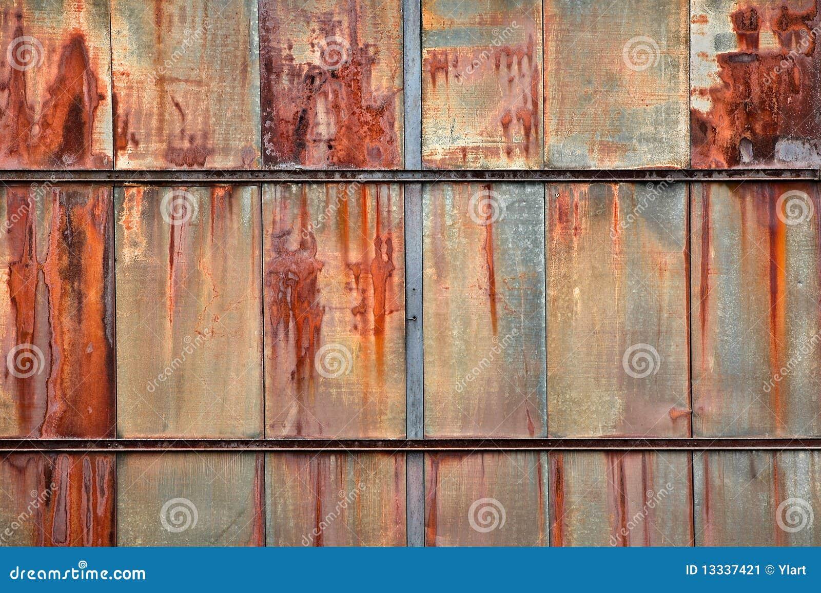 Rusty Panels Stock Image Image 13337421