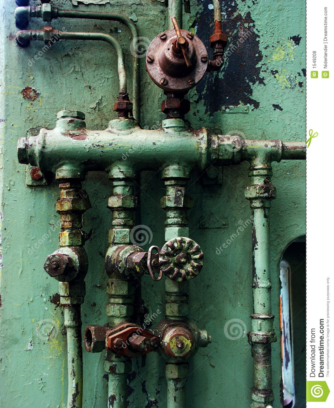 Rusty pipes and valves stock photo image of plumber for What are old plumbing pipes made of