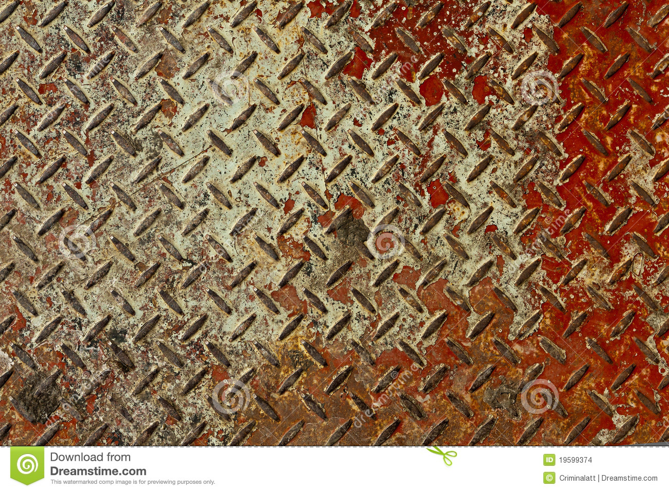 Rusted Metal Plates Texture Rusty Red And White Me...