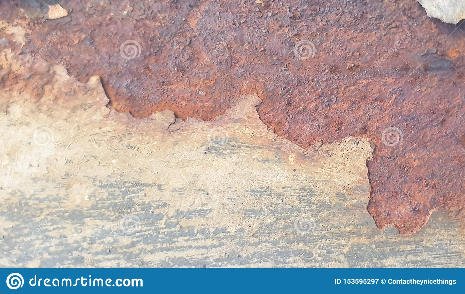 Rusty shabby chic metal texture background