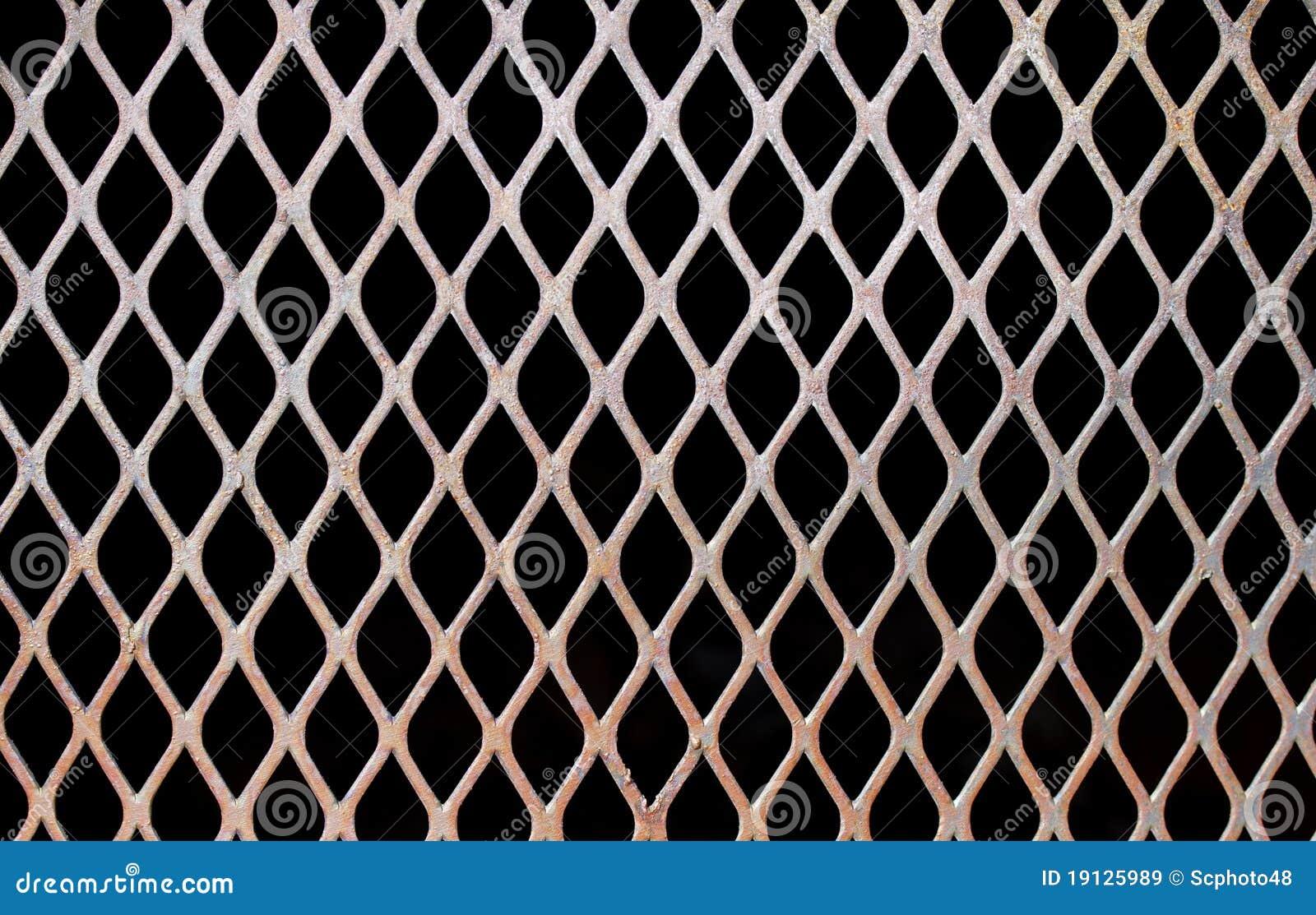 rusty steel mesh stock image  image of fence  barrier
