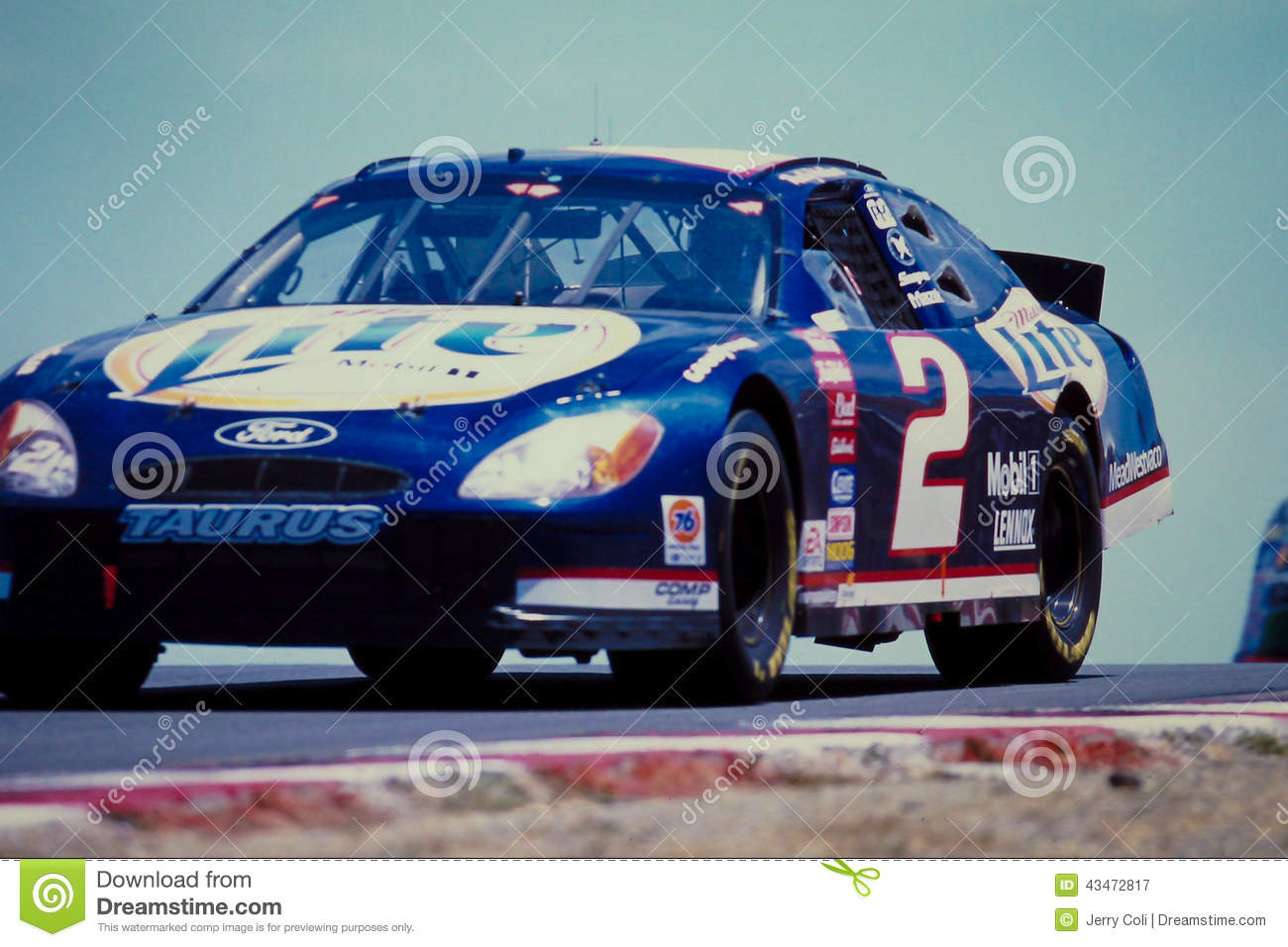 Rusty Wallace Ford >> 2 Rusty Wallace Ford Taurus Race Car Editorial Photography