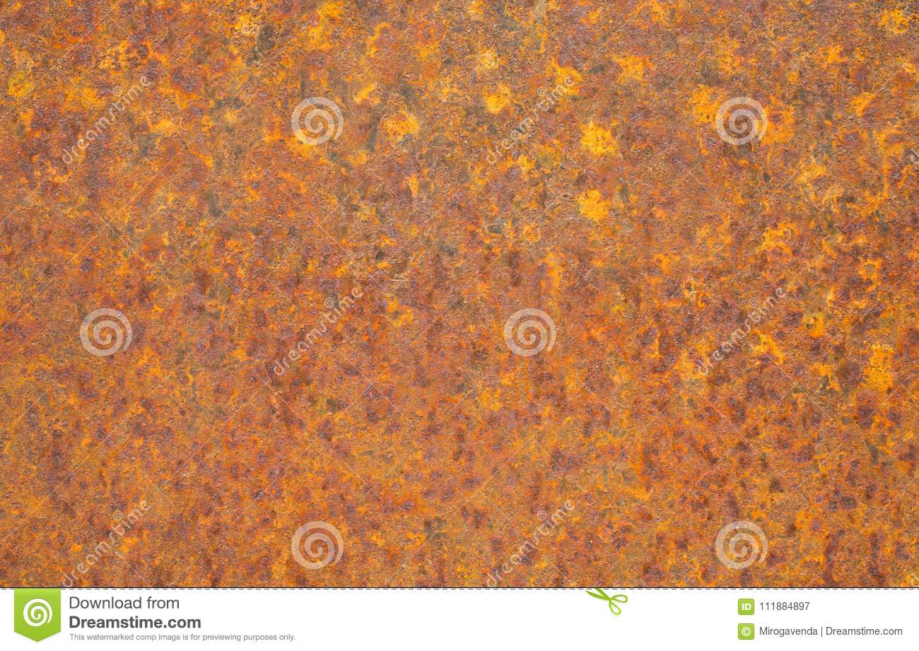 rusty yellow metal surface saturated orange red grunge rusty