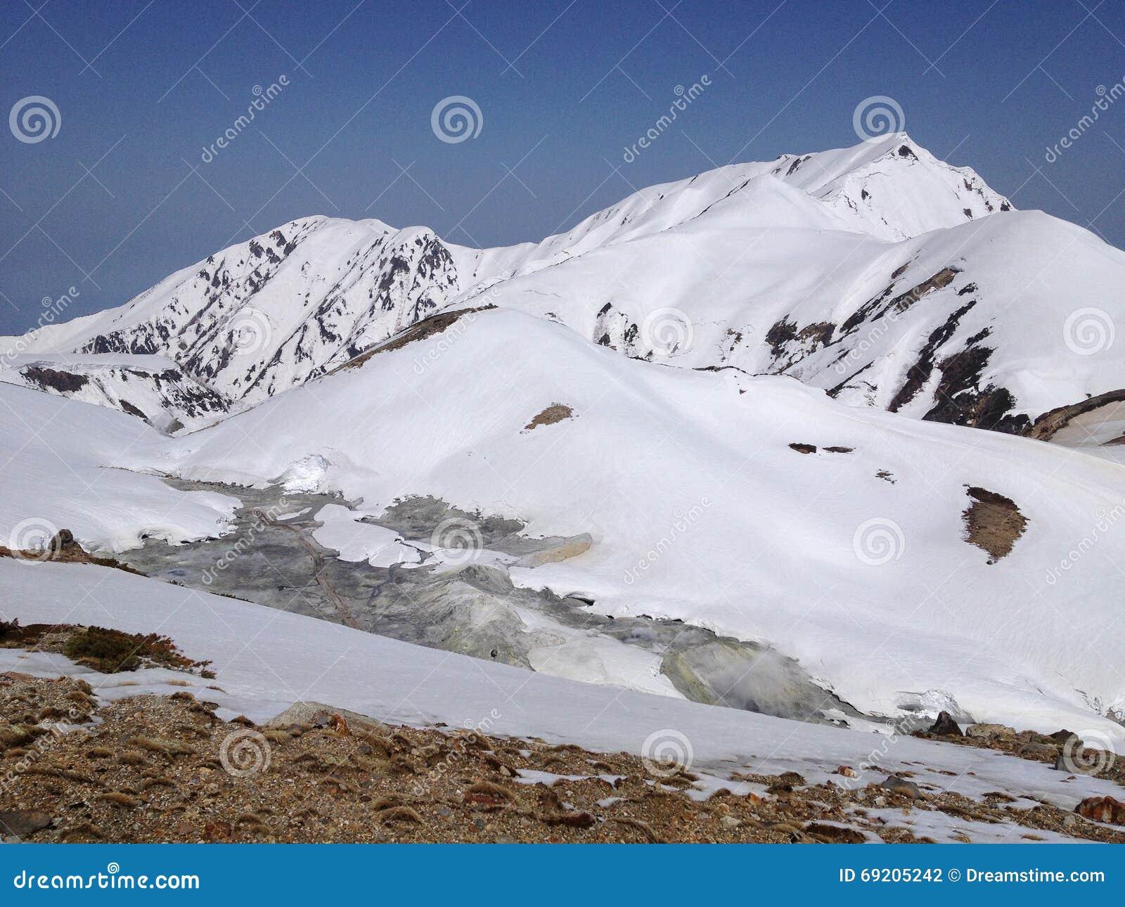 Ruta alpina de Tateyama Kurobe (montañas) de Japón, Toyama, Japón