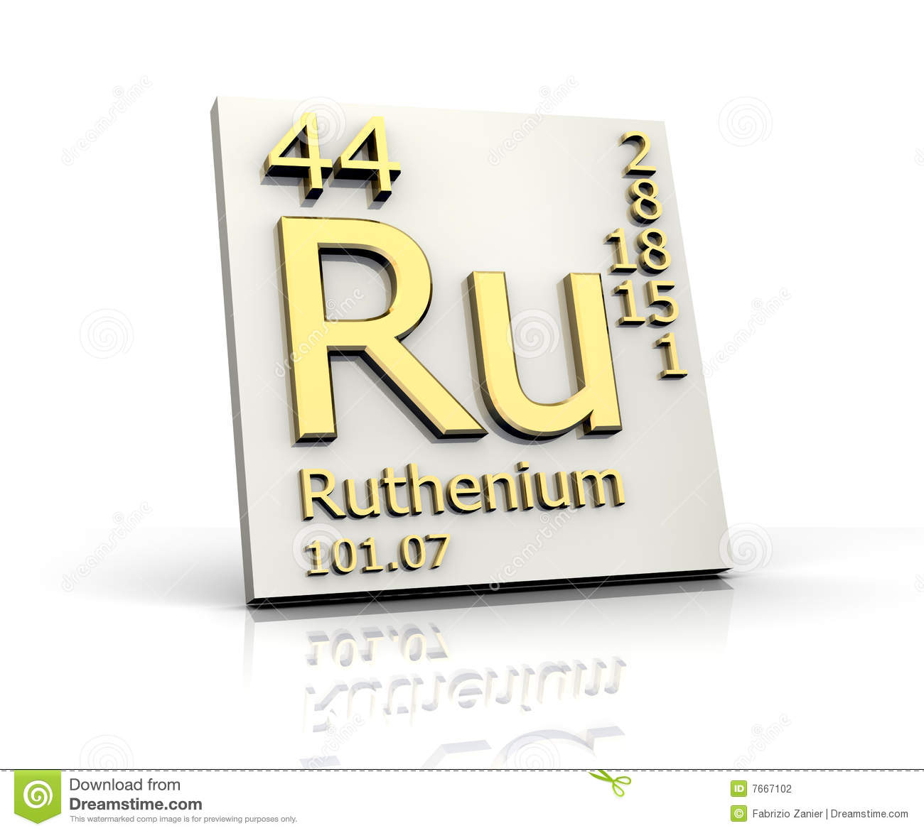 Thulium form periodic table of elements stock illustration image ruthenium form periodic table of elements stock photography gamestrikefo Gallery