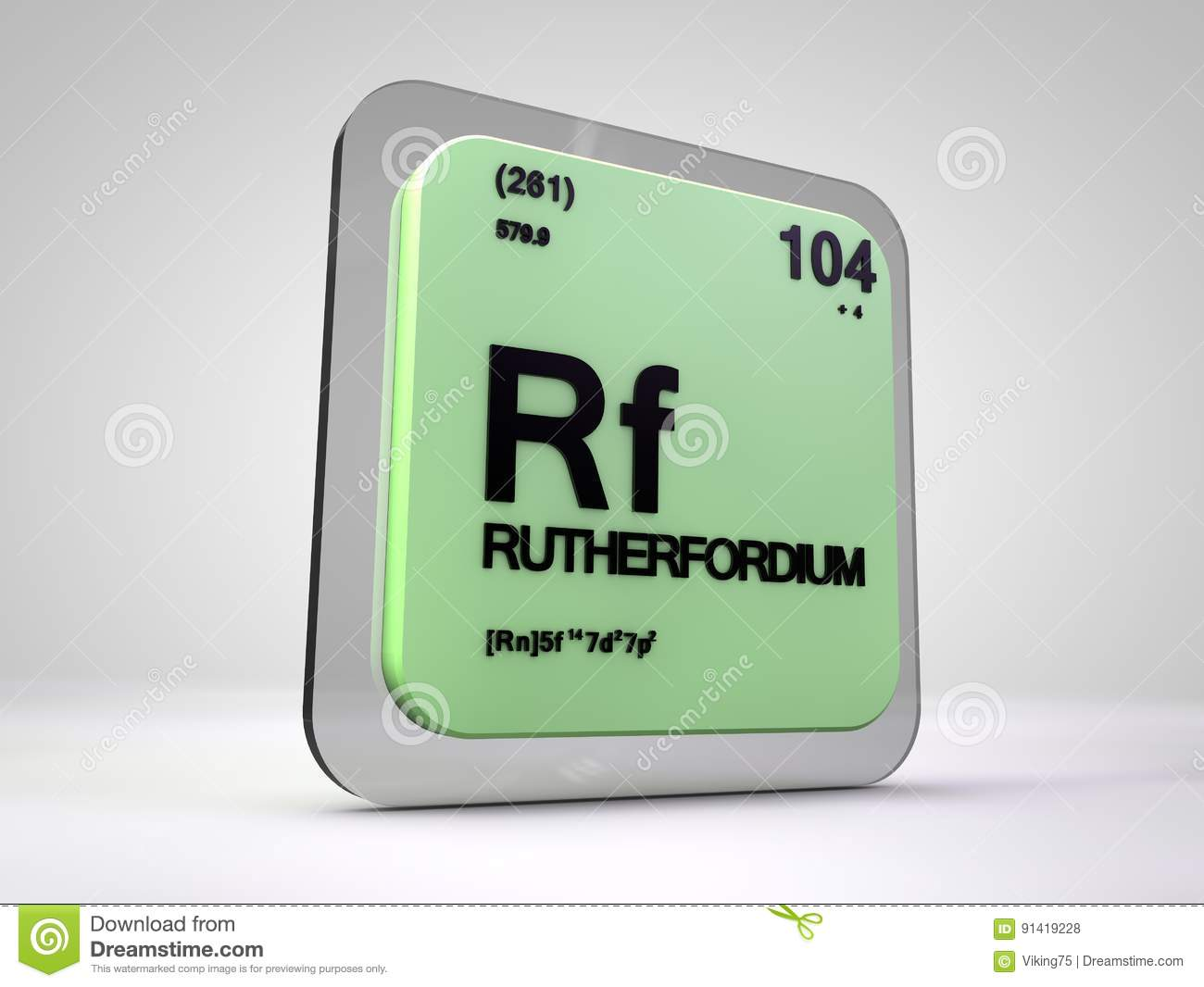 Rutherfordium rf chemical element periodic table stock royalty free illustration download rutherfordium rf chemical element periodic table gamestrikefo Image collections