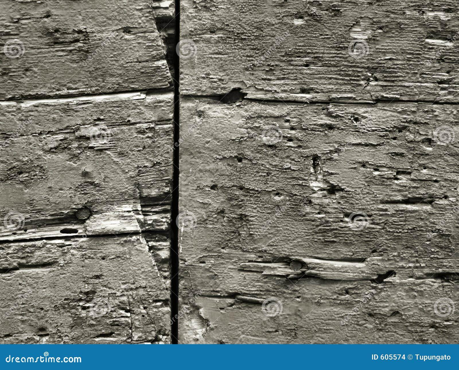 Ruw houten oppervlaktebehang