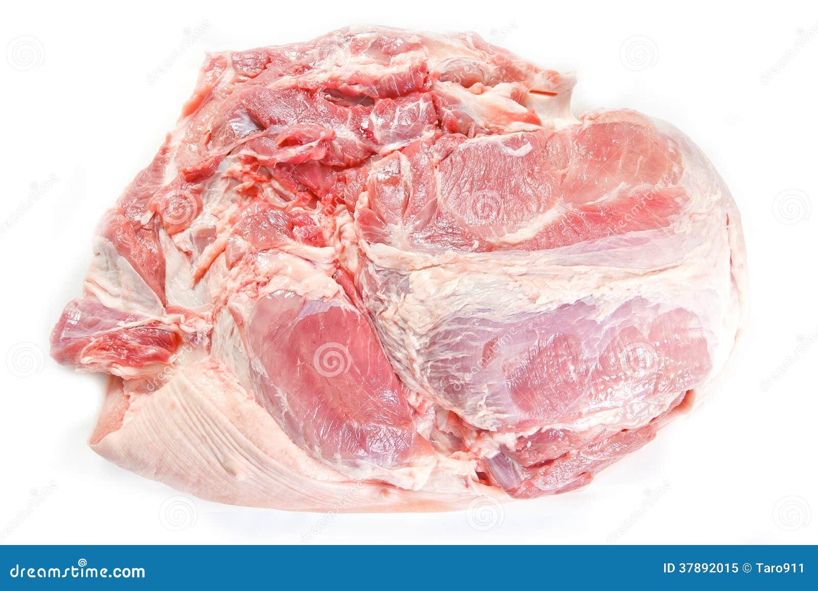 Ruw varkensvleesvlees