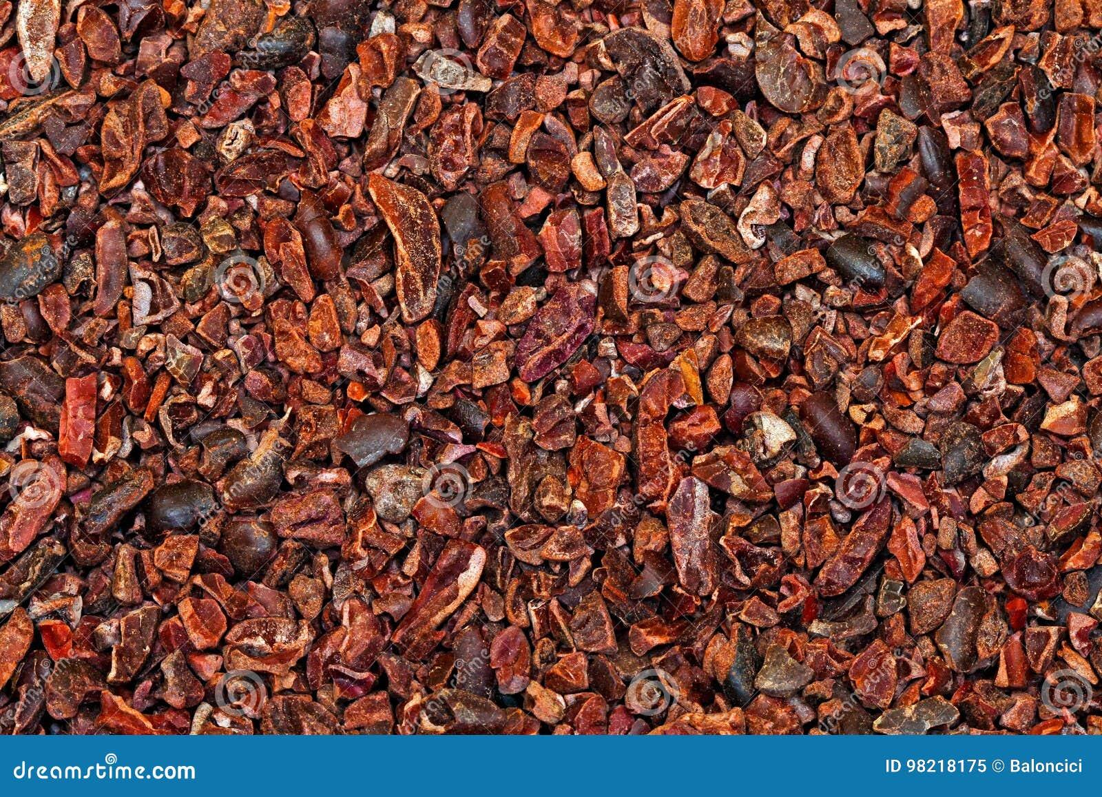 Ruwe cacaobonen