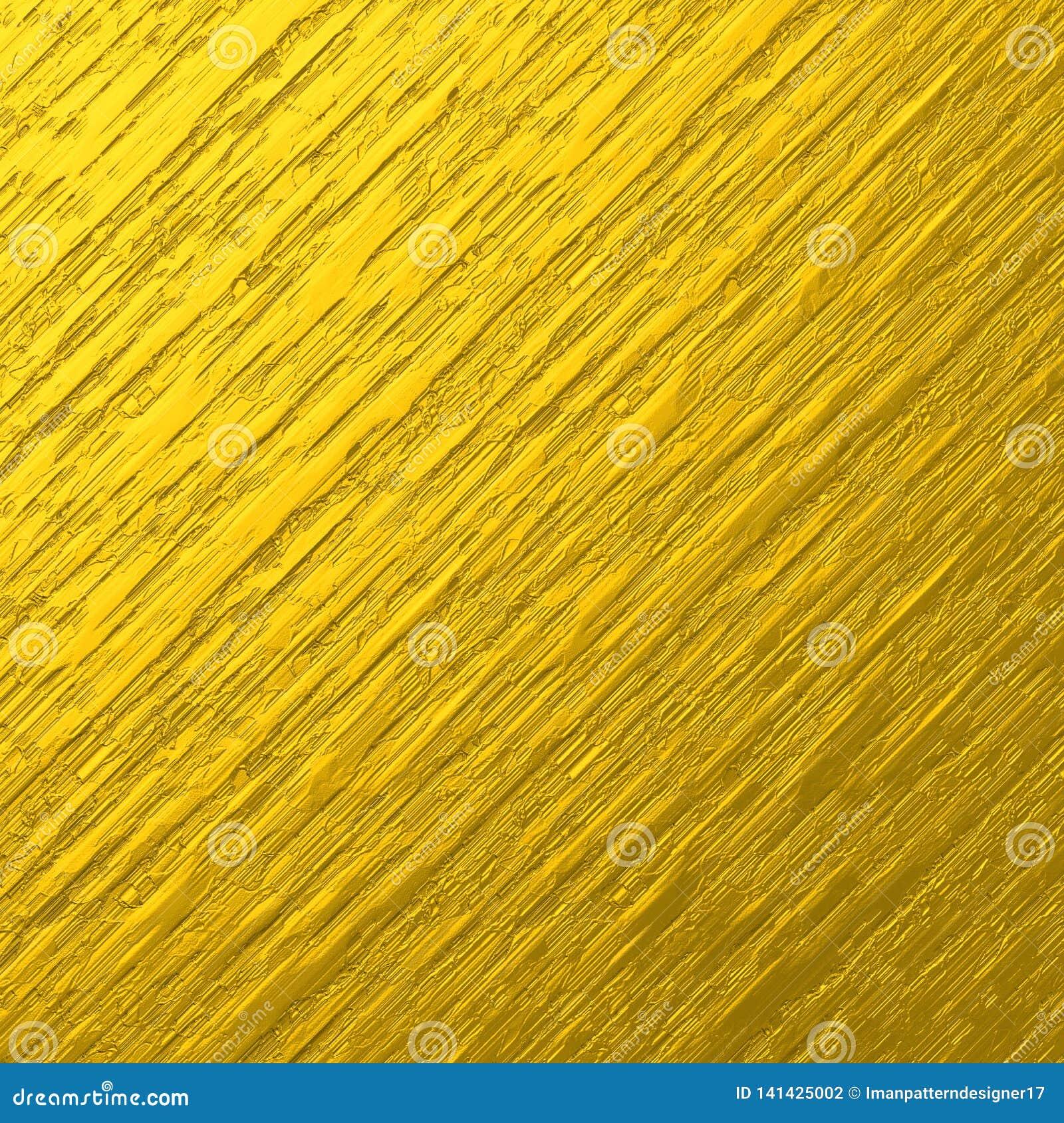 Ruwe grungy metaal gouden folie geweven achtergrond