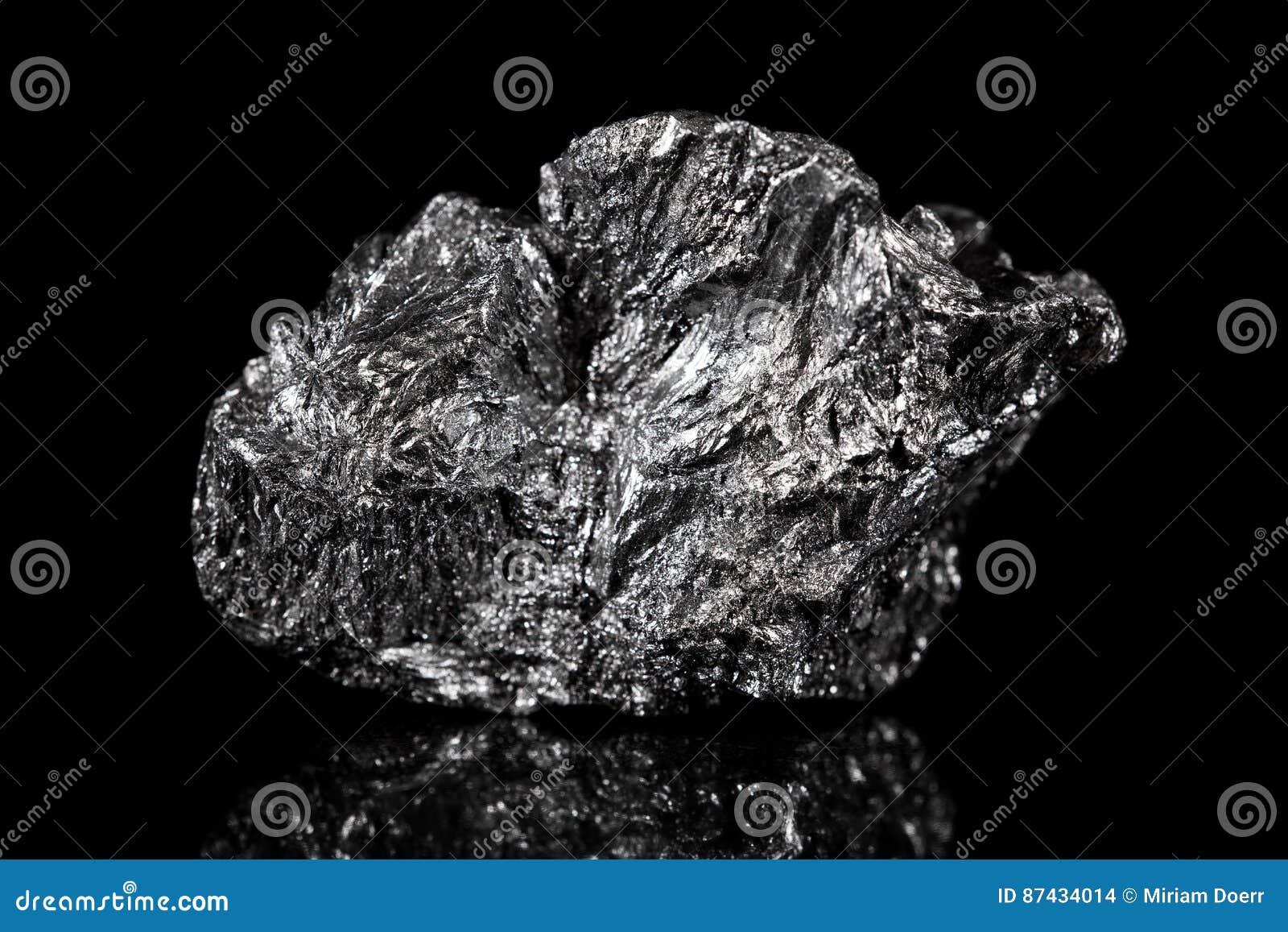 Ruwe minerale steen van Grafiet, zwarte specimenkoolstof