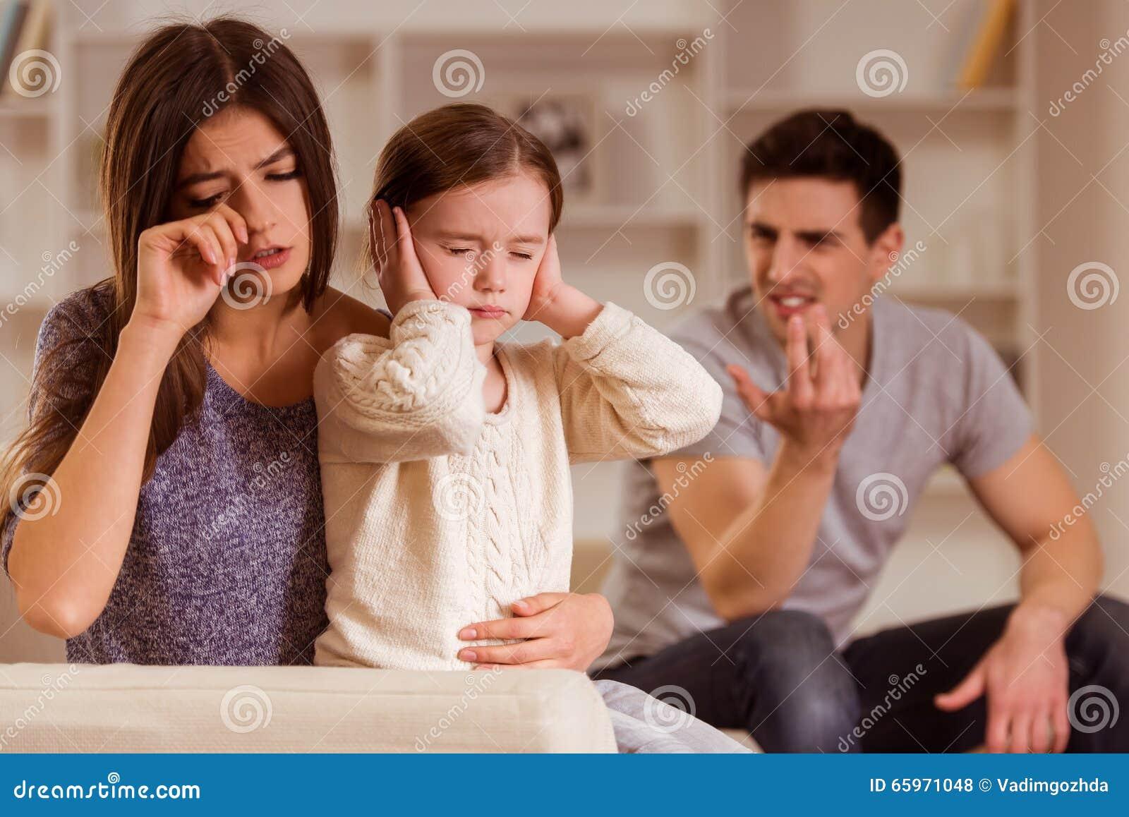 Ruzies tussen ouders
