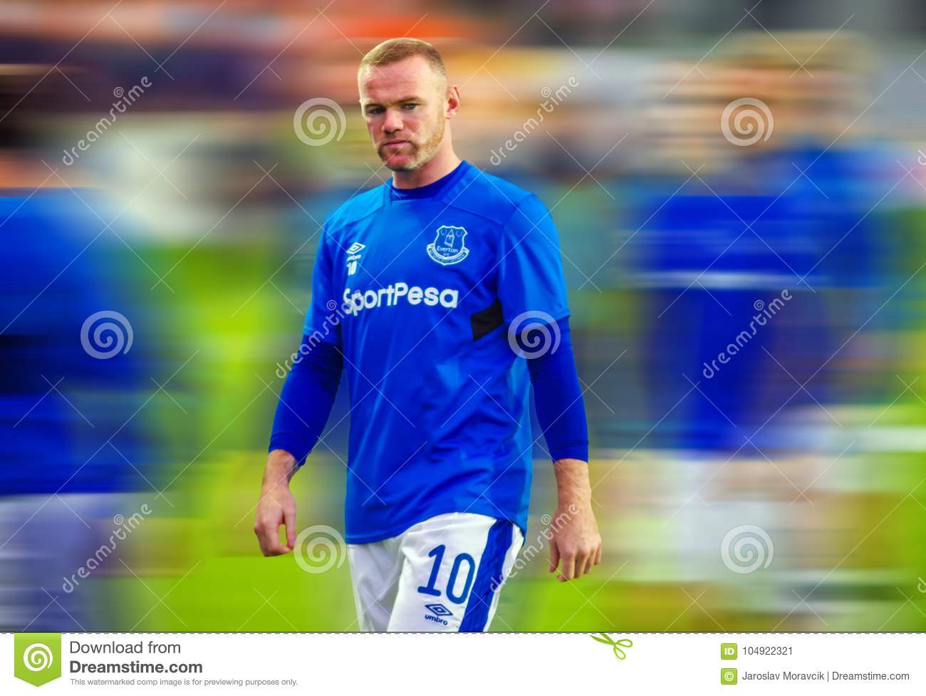 sneakers for cheap bea87 5541e Wayne Rooney And Everton Football Club Editorial Photo ...