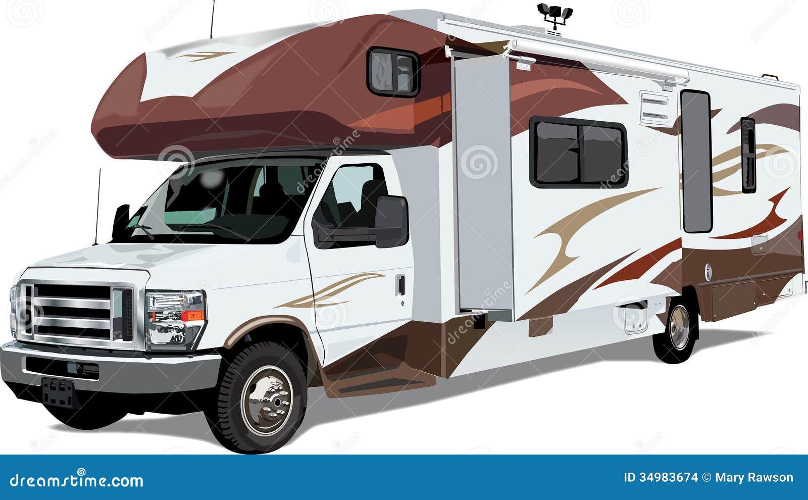RV C Class Camper Trailer