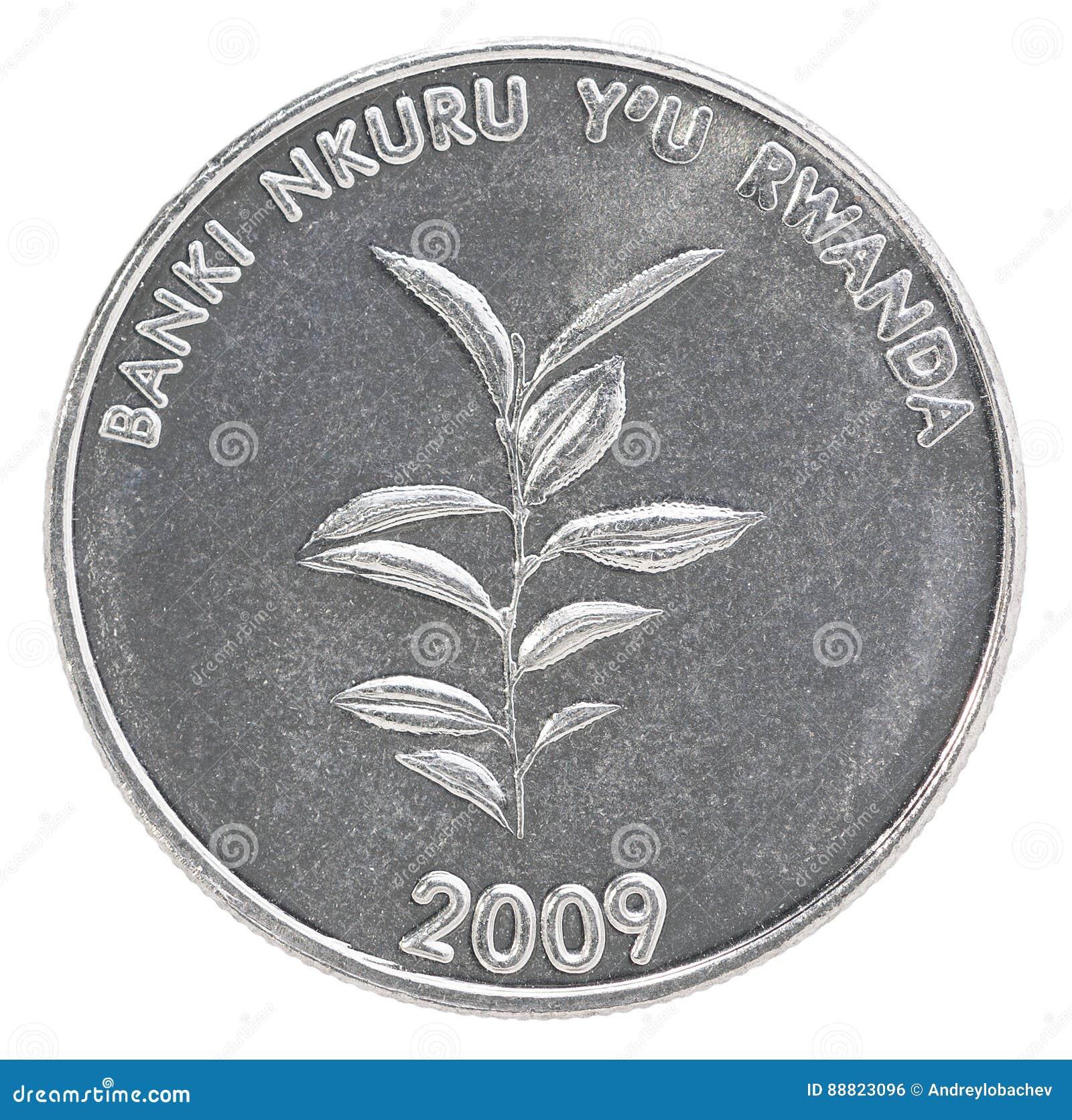 Rwanda franka moneta