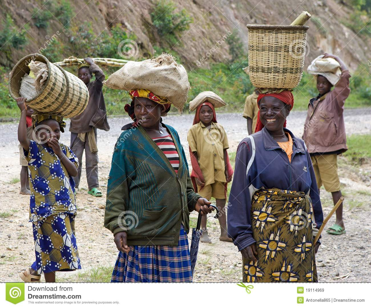 rwandan people editorial stock image   image 19114969