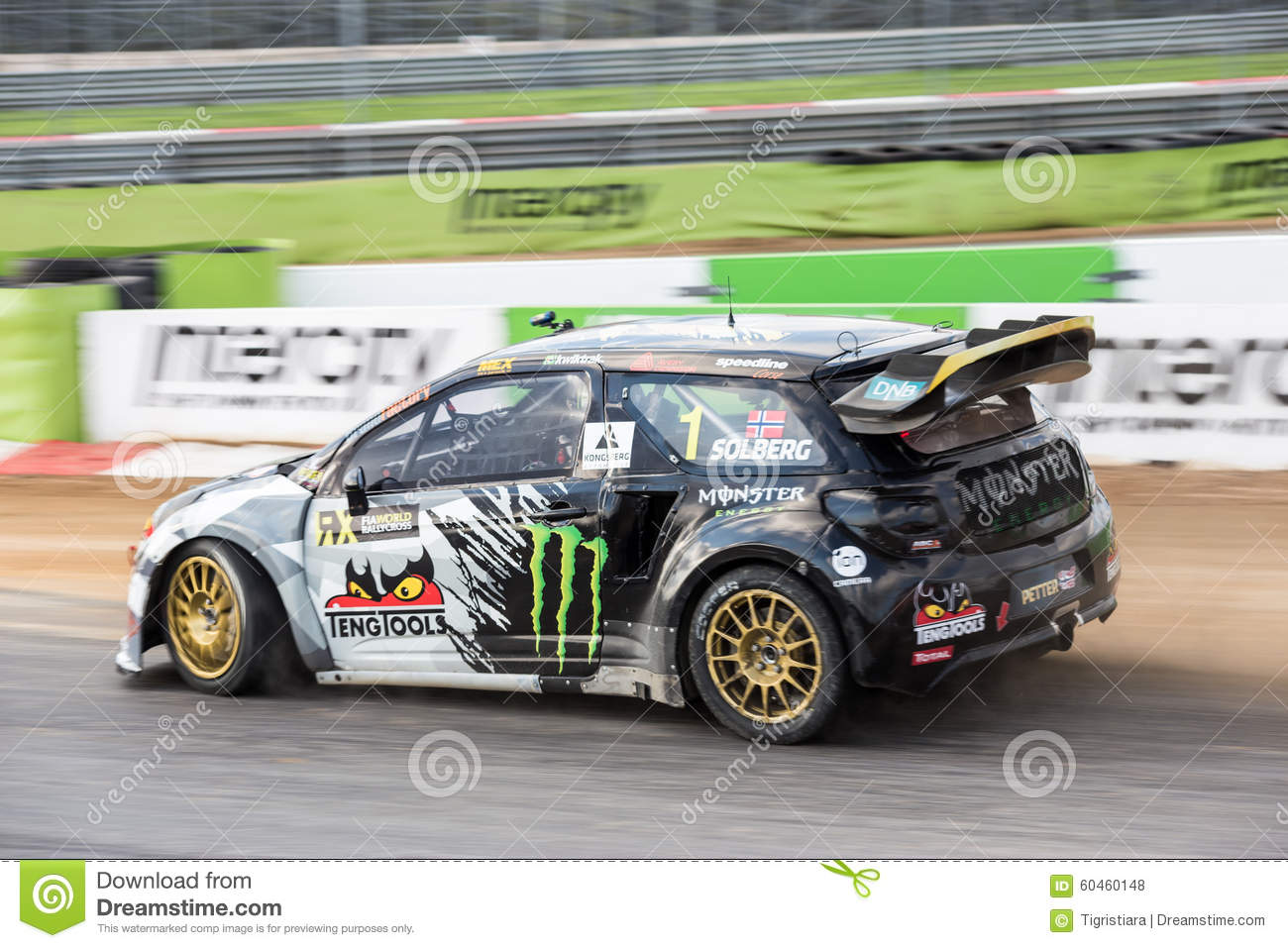 RX World Rally Cross Car editorial stock photo. Image of road - 60460148
