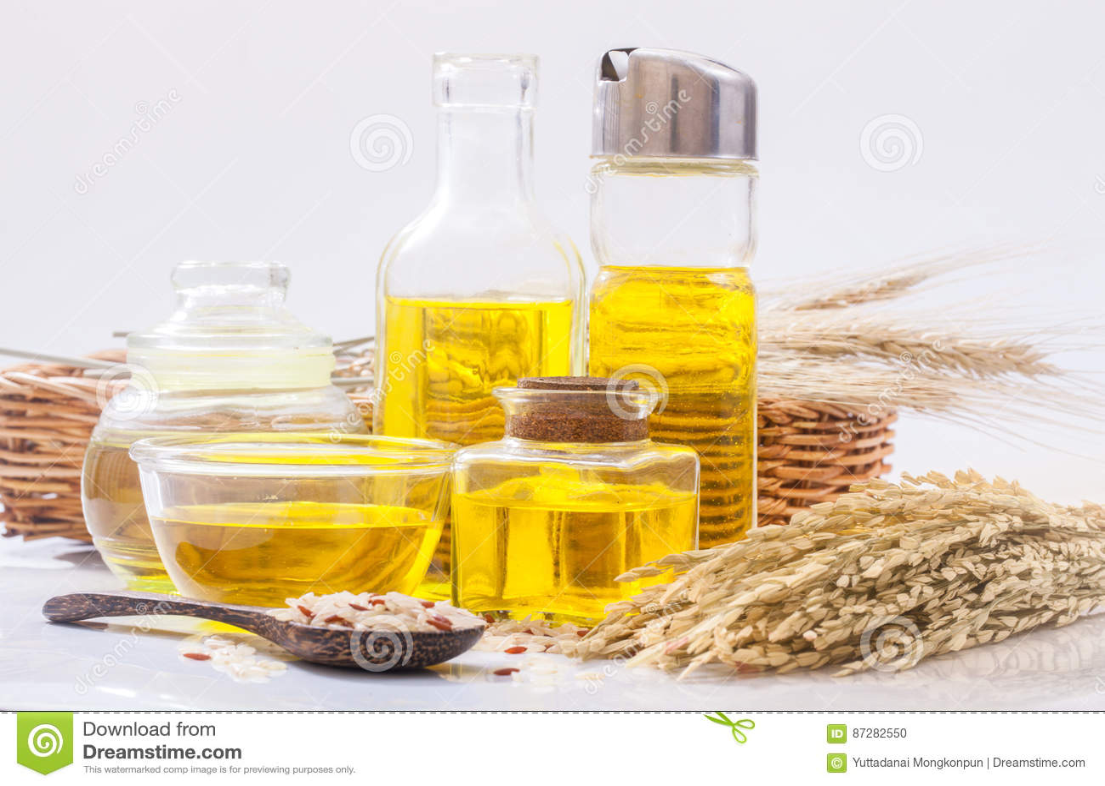 Ryżowego otręby olej