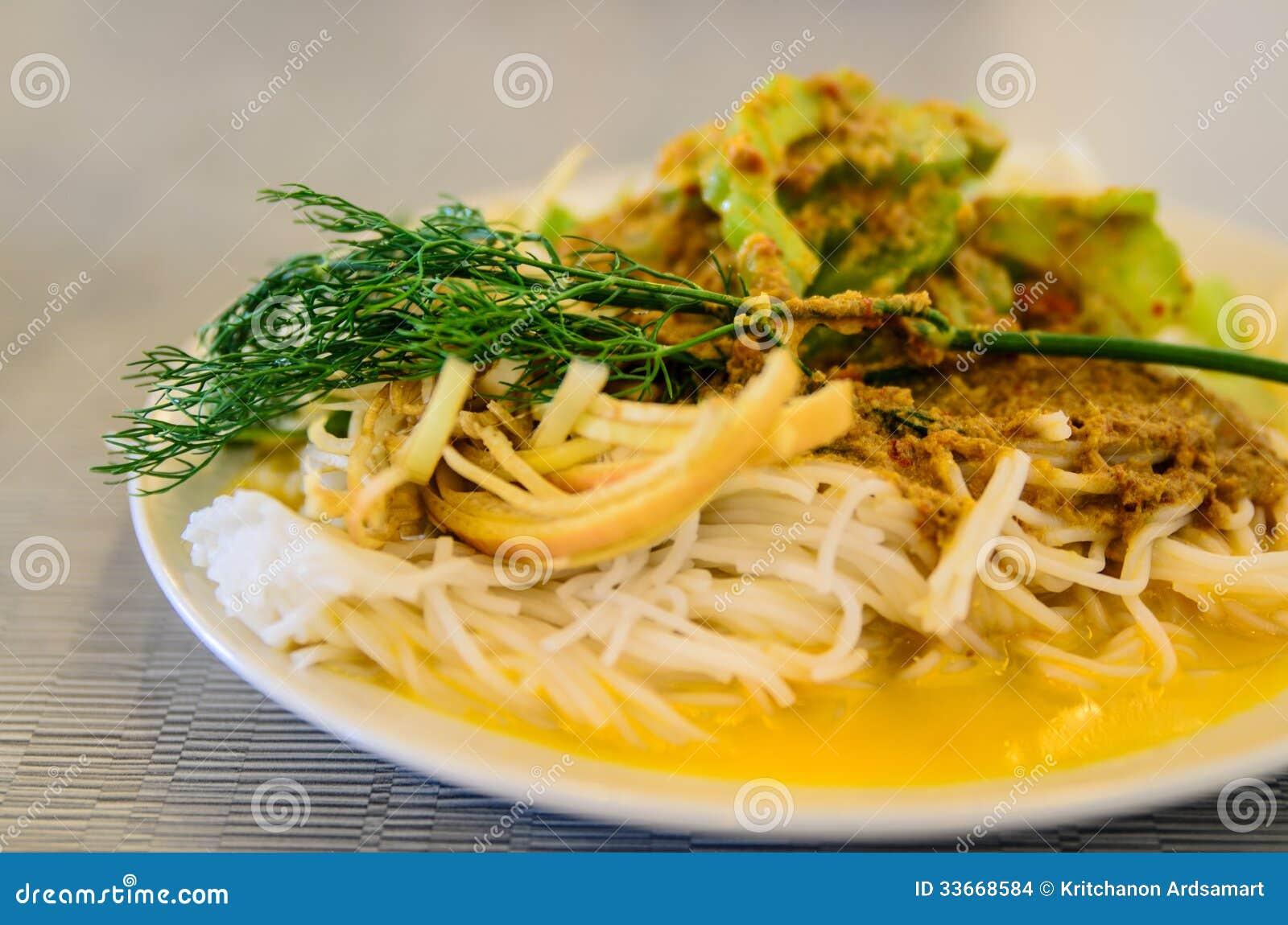 Ryżowych wermiszel tajlandzcy foods