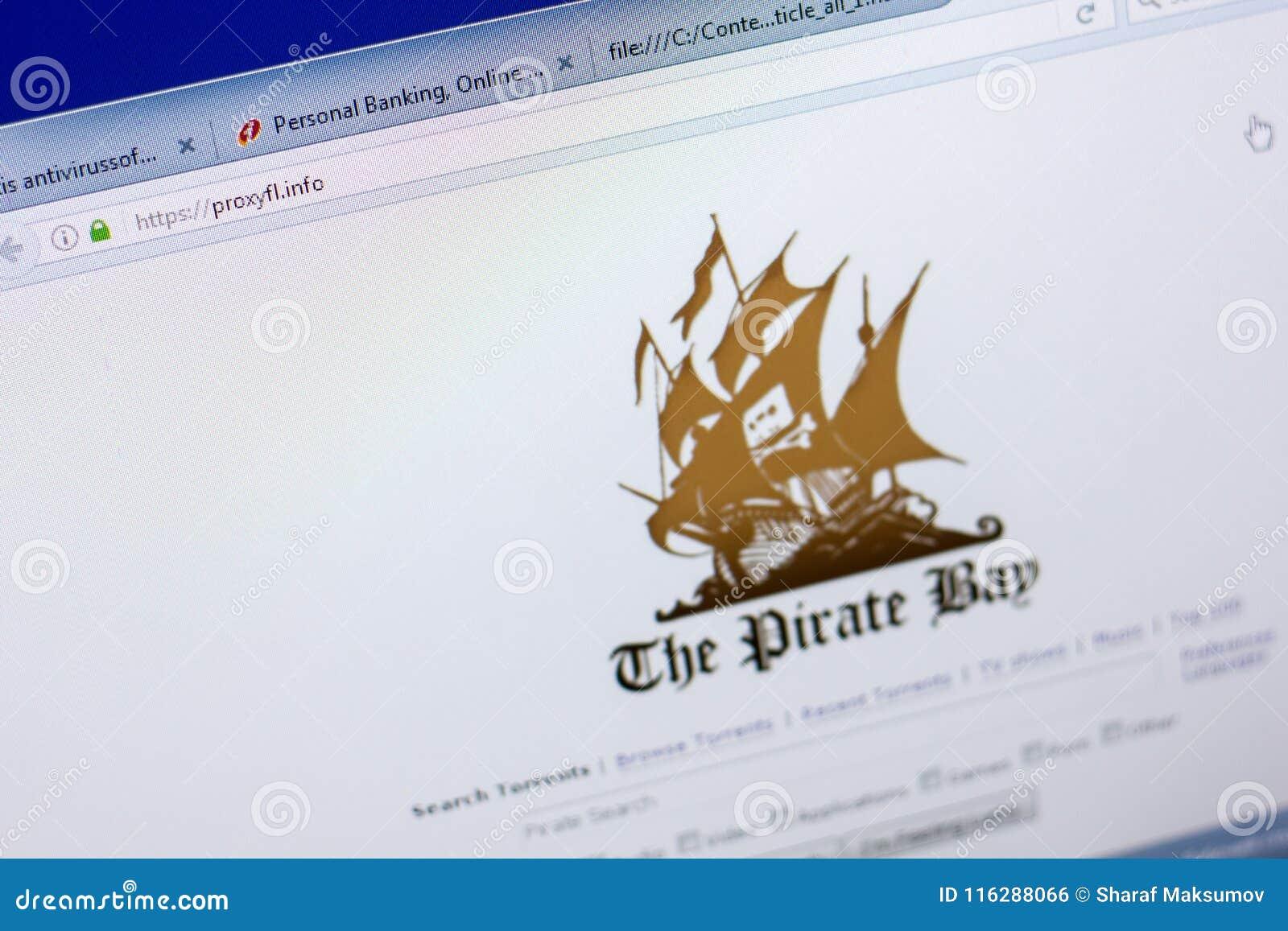 Ryazan Rosja, Maj, - 08, 2018: Proxyfl strona internetowa na pokazie pecet, url - Proxyfl info
