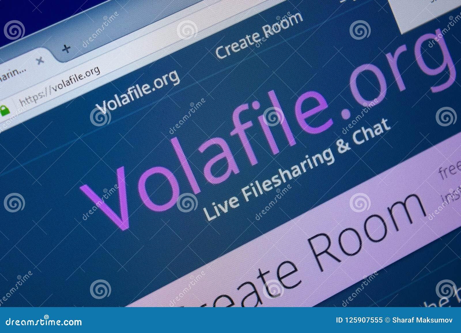 Volafile Volafile: Create