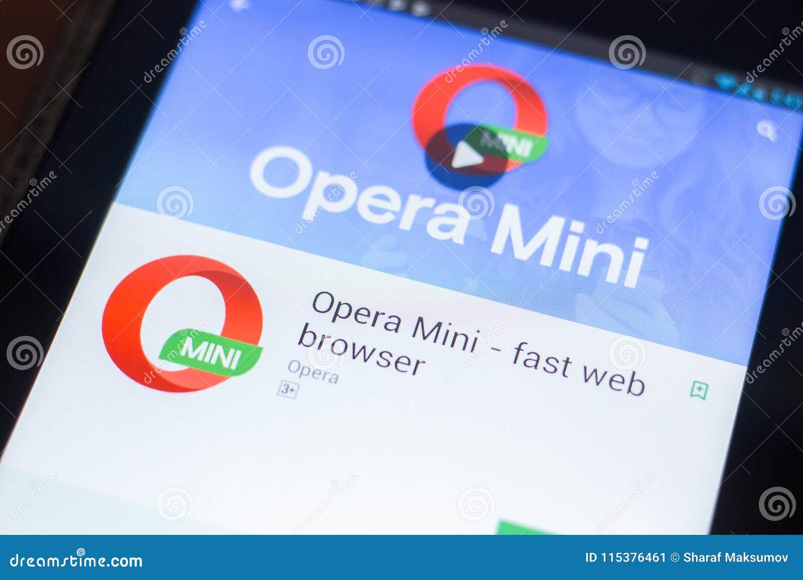 download opera mini app 2018