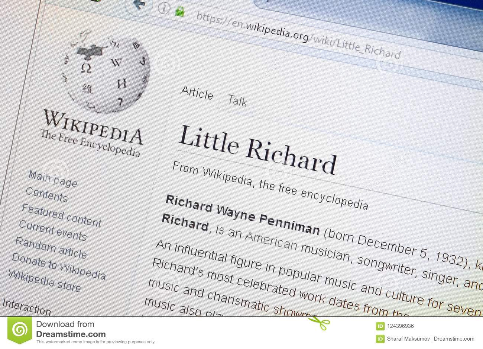 Richard 2018 little Little Richard