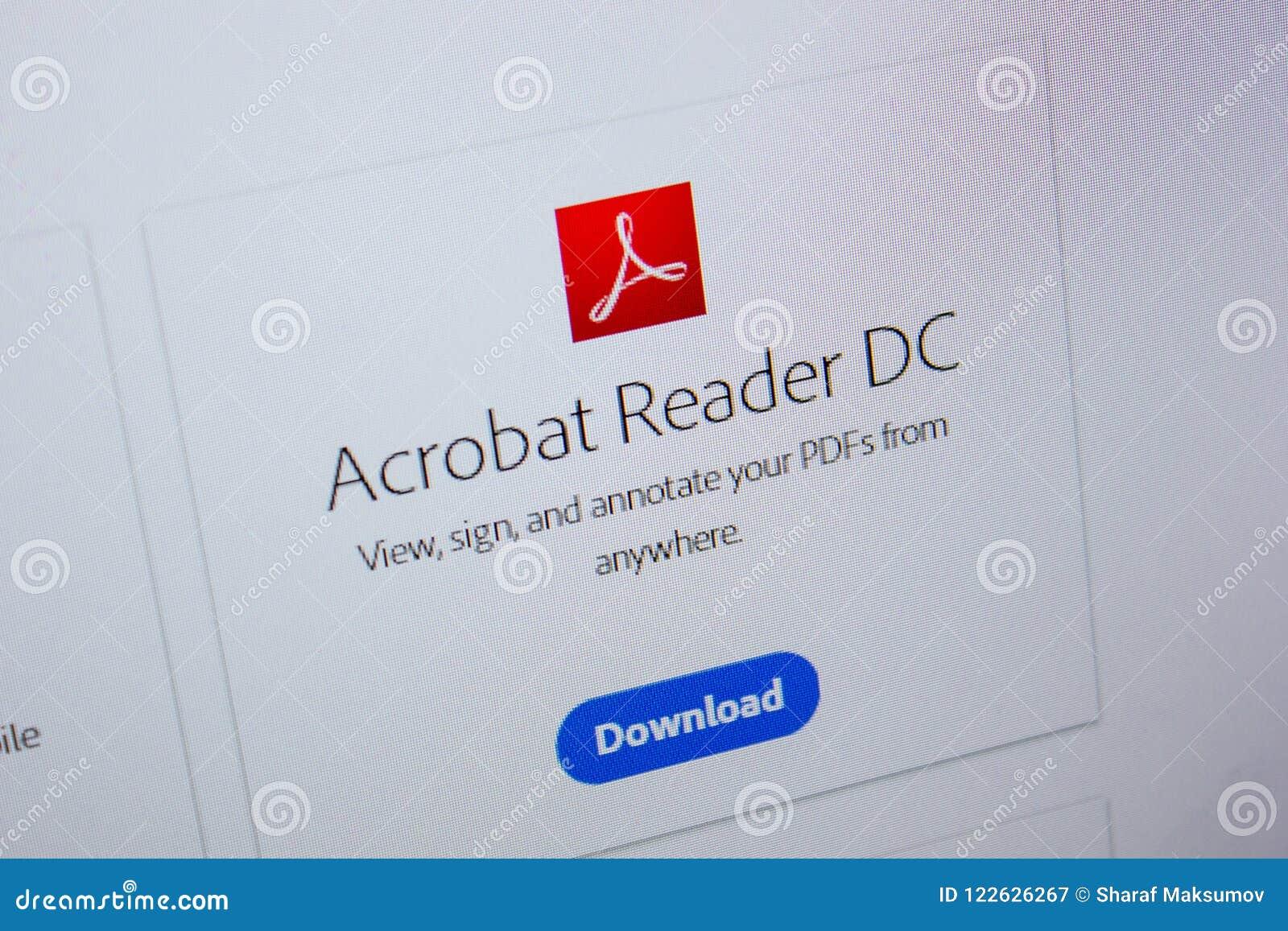 Скачать acrobat reader pdf.