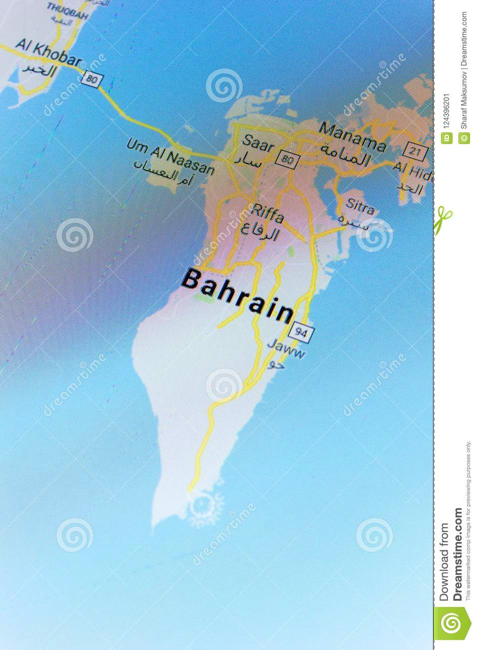 Ryazan russia july 08 2018 country of bahrain on the google download ryazan russia july 08 2018 country of bahrain on the google gumiabroncs Images