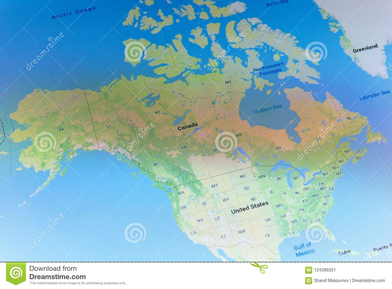 Ryazan, Russia - July 08, 2018: Country Of Canada On The ... on google map of seattle area, google street maps, google map of wv, google map of british columbia, google earth, google maps api, area code lookup canada, google maps blackberry, alberta canada, google map of grenada, cia world factbook canada, google map search, google map micronesia, google map of vancouver, ebay canada, blank map of canada, map in canada, google maps directions, map of us and canada, google satellite maps, google earth map, maps at google, mapquest canada, google maps uk, google mapquest, colored political map of canada, google maps pedometer, world atlas canada, maps.google.ro, google maps usa, google map request, google maps mobile, google maps driving directions, google map of north korea, google road maps, us google maps,