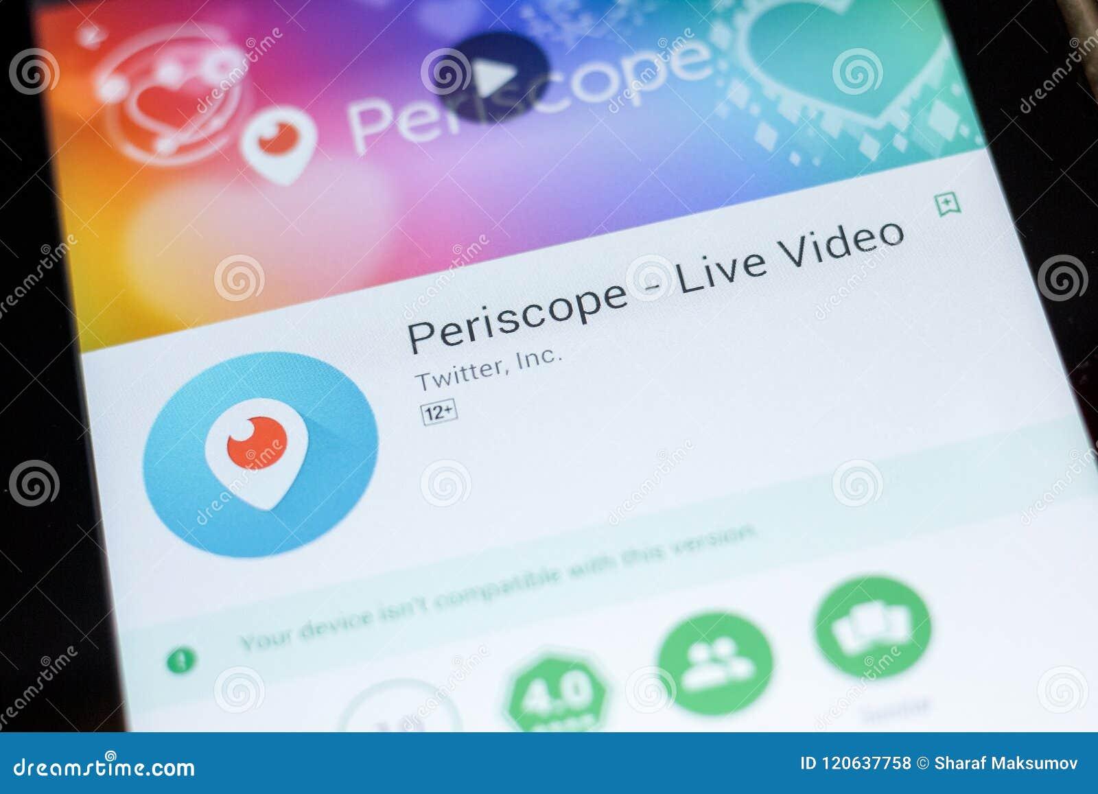 periscope app on pc