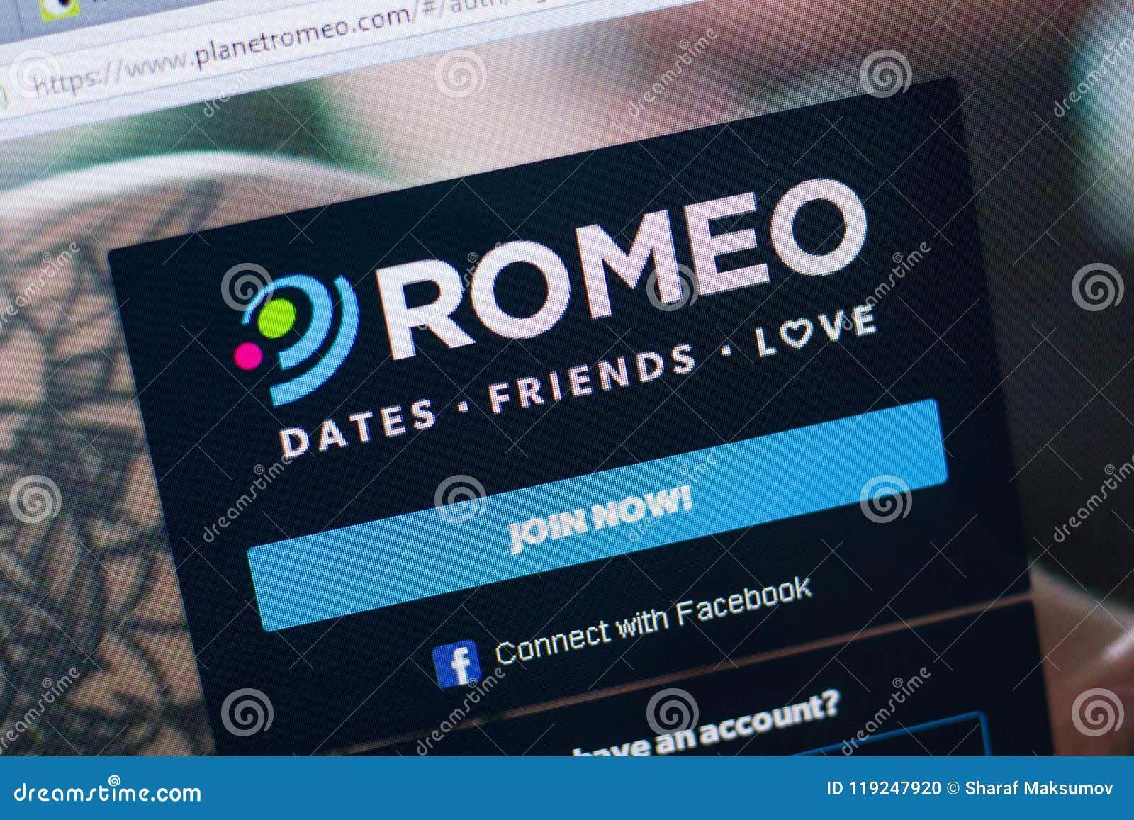Planetromeo home page