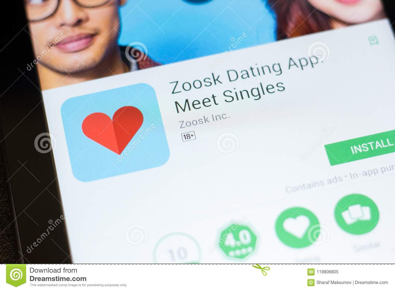 Download Zoosk App