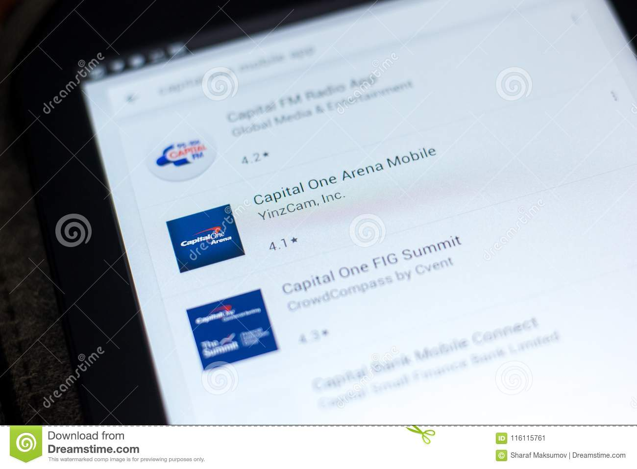capital one mobile app download