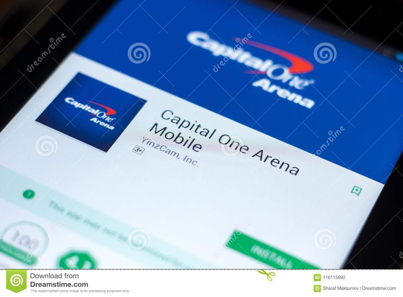 Capital one credit card number in app
