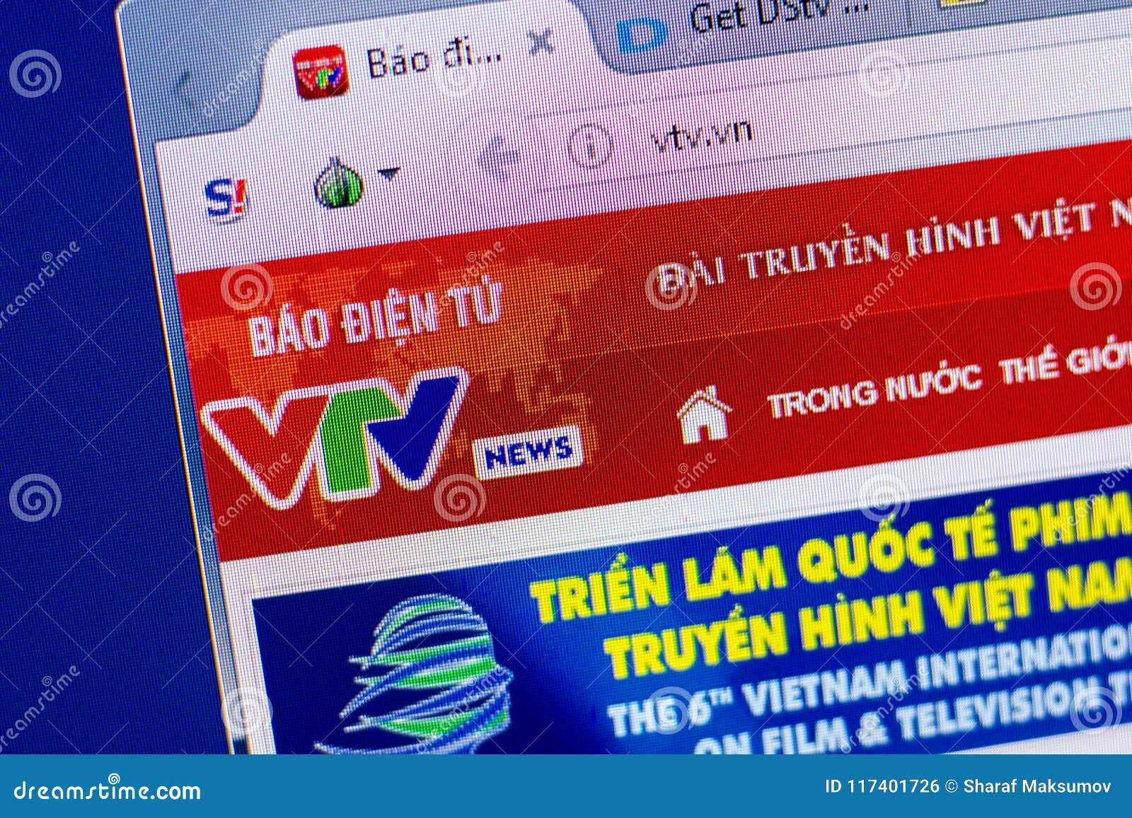 Ryazan russia june 2018 homepage joq website display url joq.