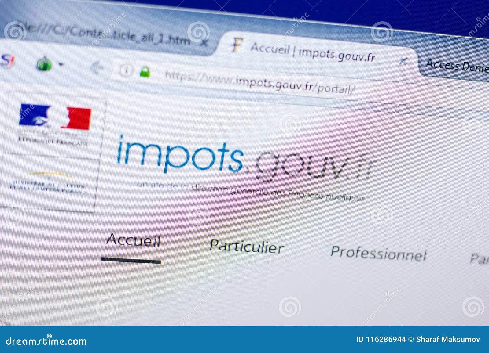 sur impots gouv fr