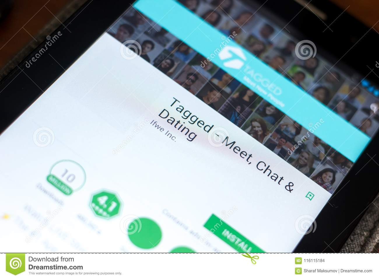 tagged mobile chat