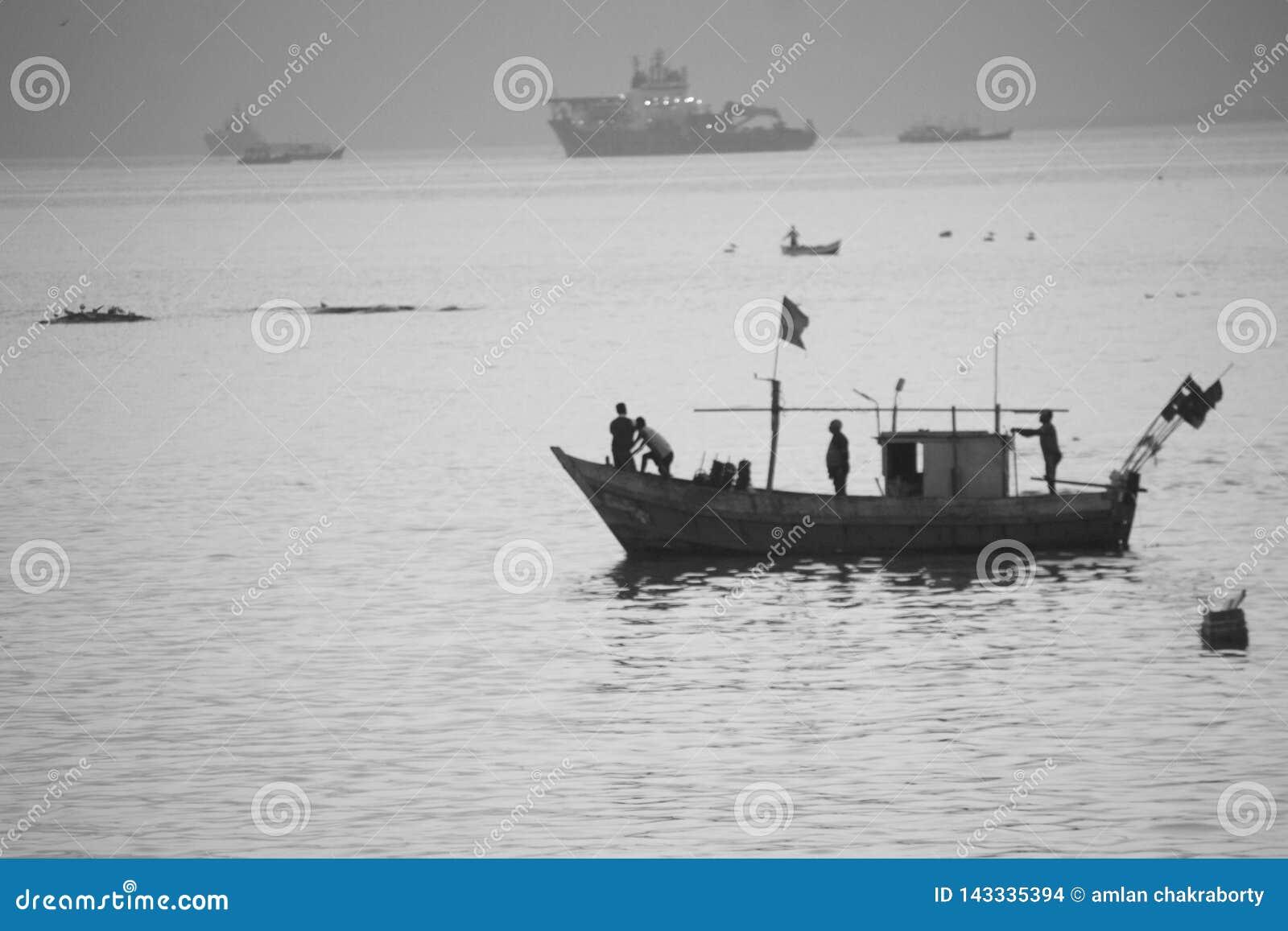 Rybacy przy pracą