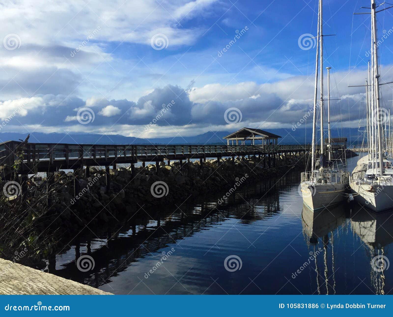Rybaka ` s nabrzeże, Comox, BC