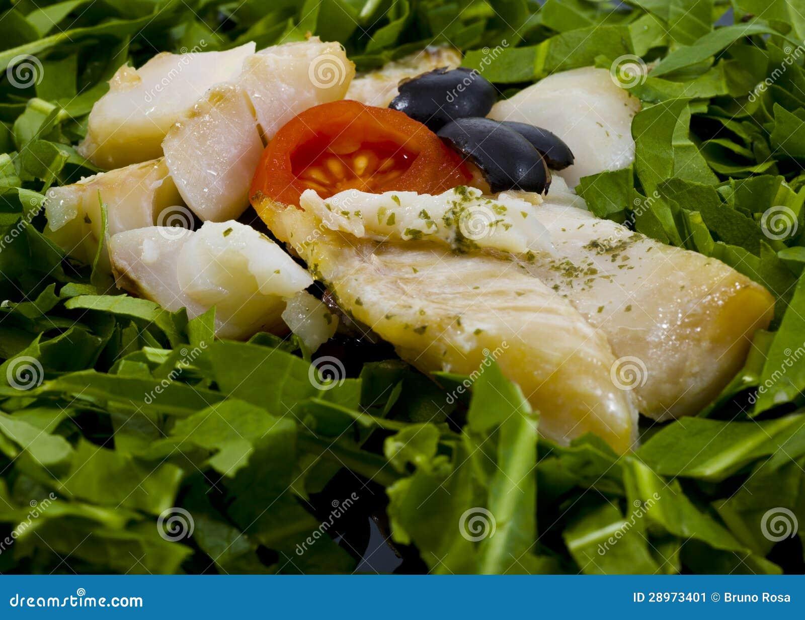 Rybi polędwicowy z warzywami