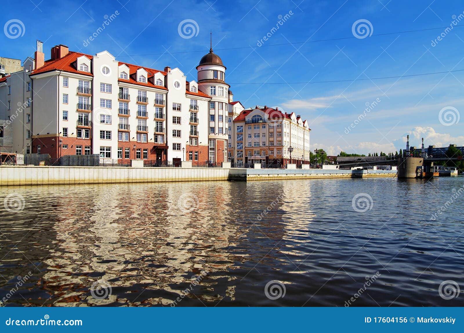 Rybia Kaliningrad koenigsberg Russia wioska
